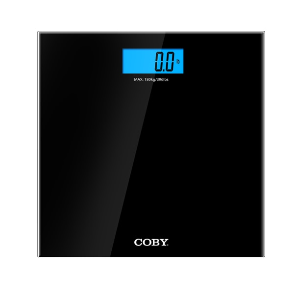 Bathroom Scale Ratings: Shop Coby Digital Bathroom Scale With Color Changing