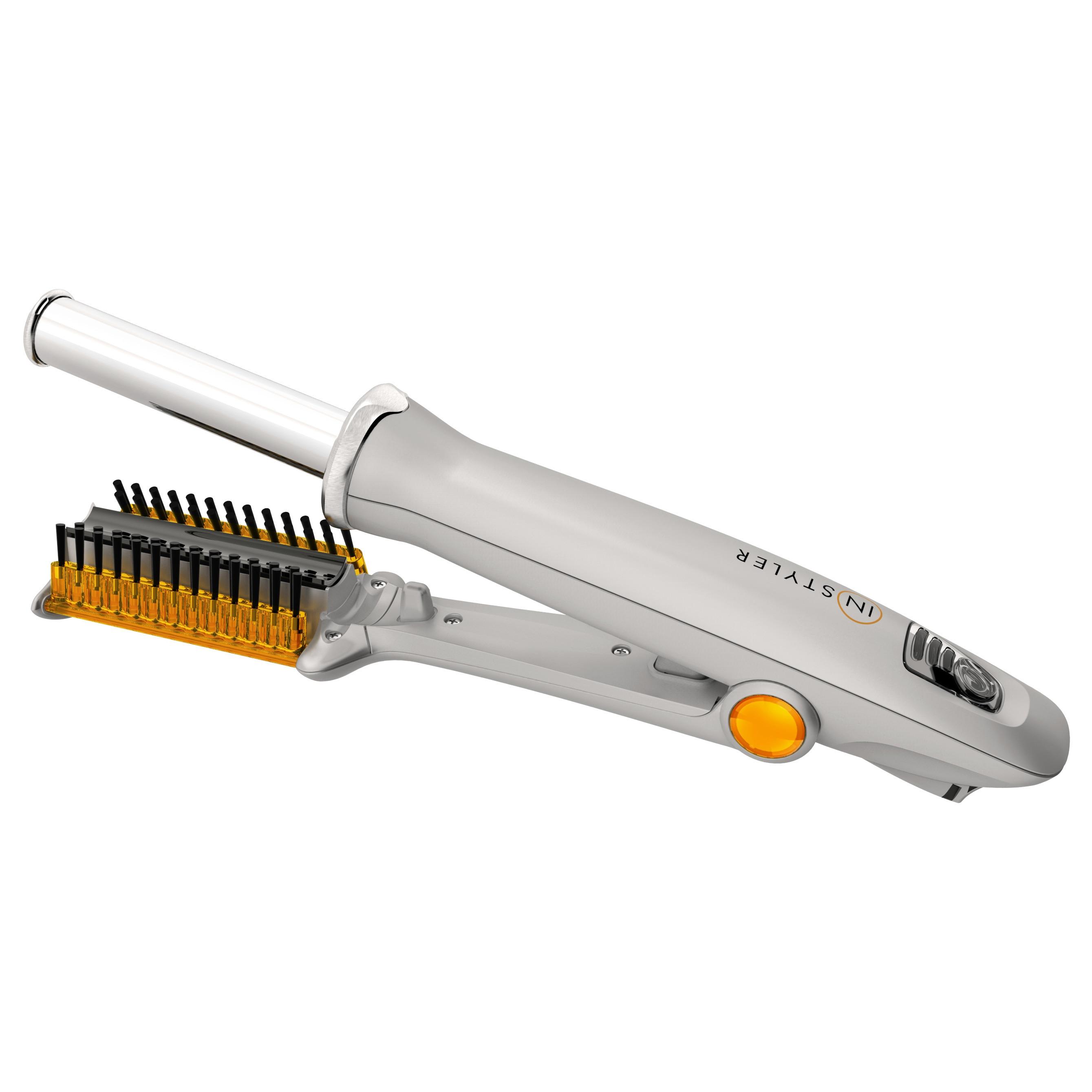 InStyler 3/4-inch 2-way Rotating Hair Styler, Silver, Siz...