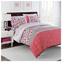 Nantucket Rose 7pc Comforter Set by Robin Zingone in