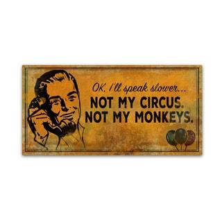 ALI Chris 'Monkey' Canvas Art