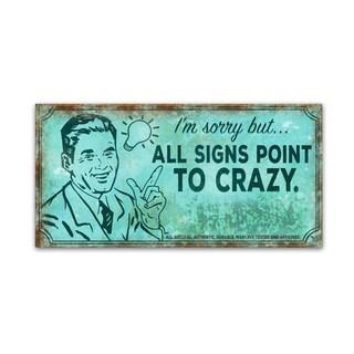 ALI Chris 'Crazy' Canvas Art