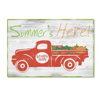 ALI Chris 'Summer' Canvas Art