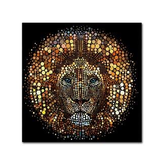 ALI Chris 'Paint Dawb Lion' Canvas Art
