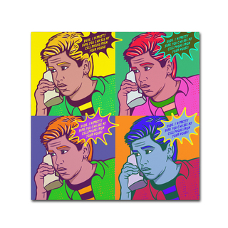 ALI Chris 'Zach4sq' Canvas Art