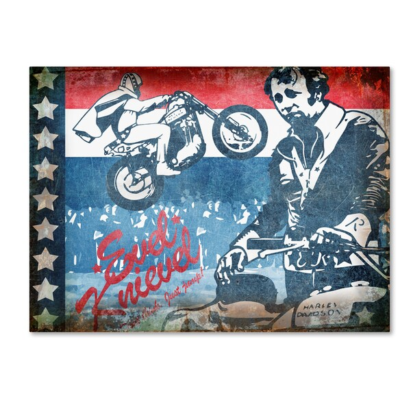 ALI Chris 'Evel' Canvas Art