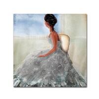 ALI Chris 'Lady In The Window' Canvas Art