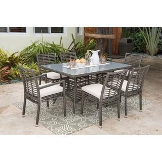 Panama Jack Graphite Aluminum 7-piece Dining Set