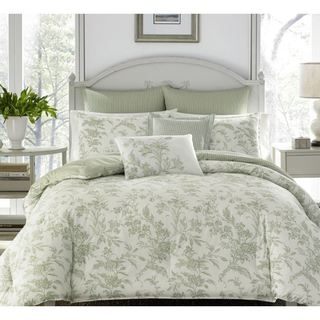 Link to Laura Ashley Natalie Green Full/ Queen Size Comforter Bonus Set (As Is Item) Similar Items in As Is