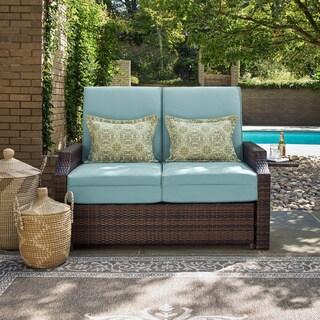 Bahama Grey Pool and Deck Convertible Outdoor Sofa