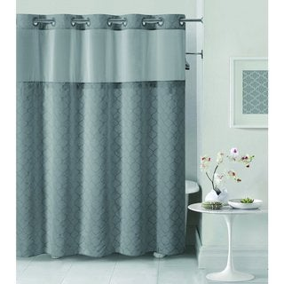 Hookless Mosaic Shower Curtain