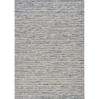 "Terrain Blurred Stripes Outdoor Rug (5'3"" x 7'7"")"