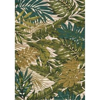 "Dream Floral Paradise Outdoor Rug (8'0"" x 11'2"")"