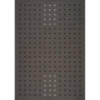 "Dream Black Shimmer Squares Outdoor Rug (8'0"" x 11'2"")"
