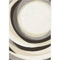 """Marcy Light Spirals Rug (7'10"""" x 10'10"""")"""
