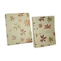 Handmade Boxed 8 Cards and Envelopes - Down 2 Earth Design (India)