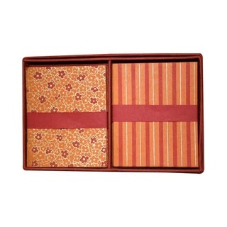 Handmade Boxed 16 Cards and Envelopes - Cayenne Design (India)