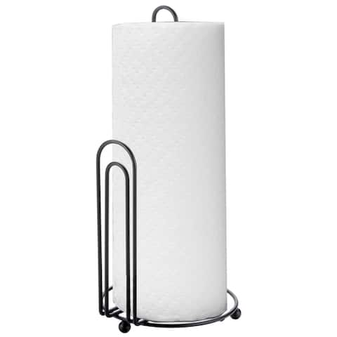 Home Basics Steel Wire Paper Towel Holder