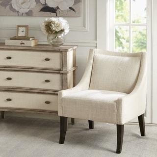 Madison Park Cofeman Cream/ Brown Accent Chair