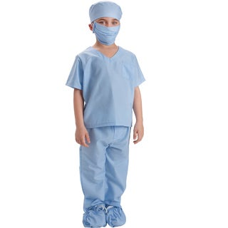 Blue Doctor Scrubs Costume - By Dress Up America