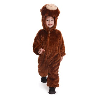 Plush Monkey Costume - By Dress Up America