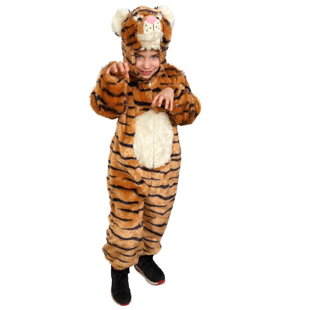 Little Kids Plush Wolf Costume By Dress Up America