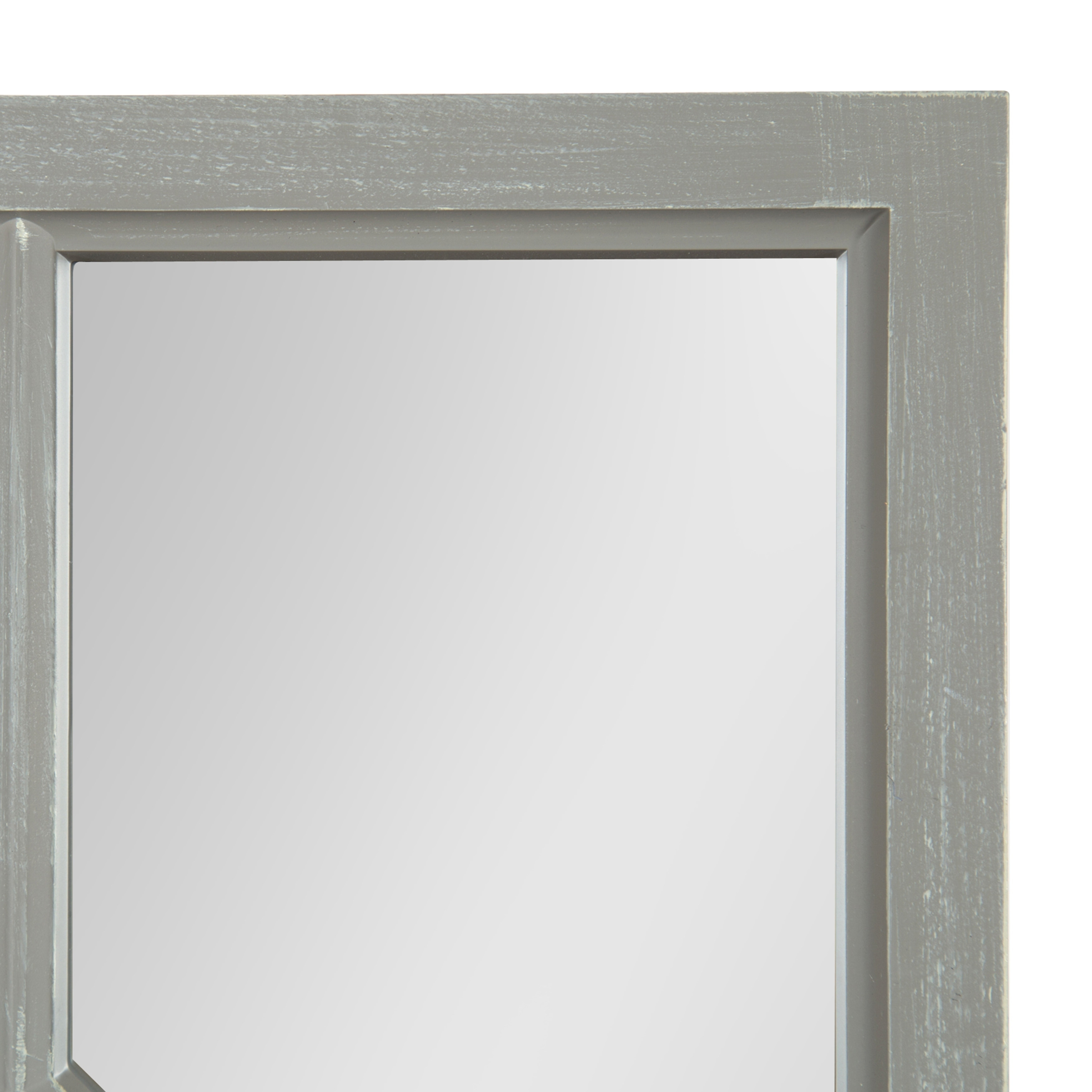 Kate And Laurel Cassat Window Wall Accent Mirror 13x30 Overstock 16935316