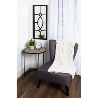 Kate and Laurel Cassat Windowpane Wall Accent Mirror