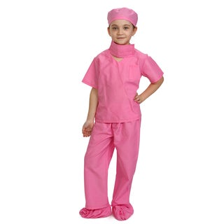 Pink Doctor Scrubs Costume - By Dress Up America
