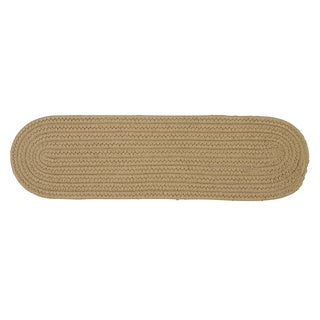 Solid Reversible Oval Stair Tread (8 Inch x 28 Inch)