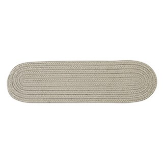 Solid Reversible Oval Stair Tread - 8 Inch x 28 Inch