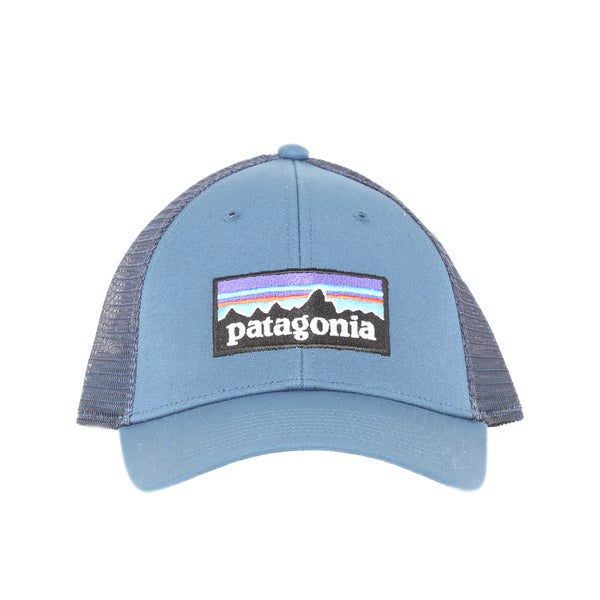 Shop Patagonia Glass Blue P-6 Logo Lo ProTrucker Hat - Ships To ... bcb946557f4e