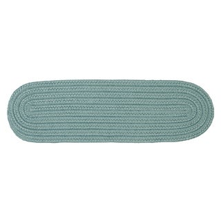 "Solid Reversible Oval Stair Tread (8"" x 28"")(Single) - 8 Inch x 28 Inch"