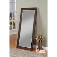 Sandberg Furniture Mid-Century Espresso Full-length Leaner Mirror