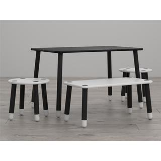 Little Seeds Clover Chalkboard-Top Play Table and Bench Set