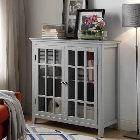 Lola Grey Double Door Cabinet