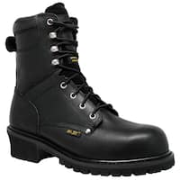 "Men's 9"" Waterproof Super Logger Black"