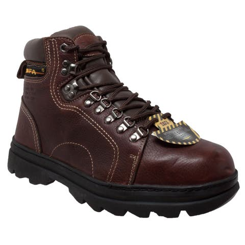 Mens 6 inch Metatarsal Hiker Brown