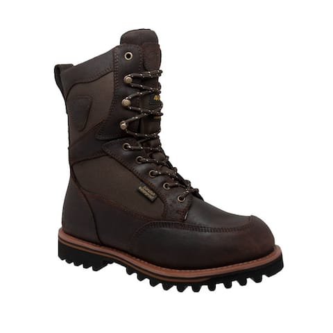 Tecs Mens 11 inch Cordura Dark Brown