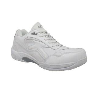 Men's Uniform Athletic Lace Up White