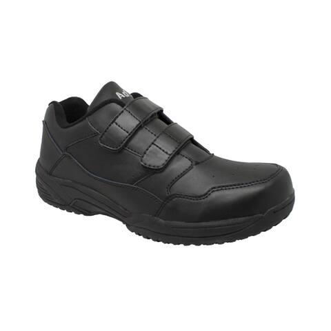 Mens Uniform Athletic Black Shoes