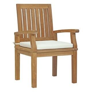 Modway Marina Teak Outdoor Patio Dining Chair