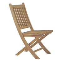 Marina Outdoor Patio Teak Folding Chair