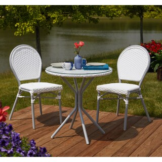 Simple Living 3-Piece Paris Bistro Set - N/A