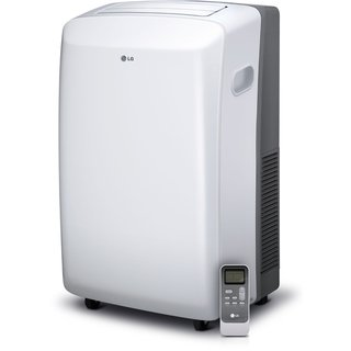 LG LP1017WSR 10,000 BTU Portable Air Conditioner with Remote (Refurbished) - White