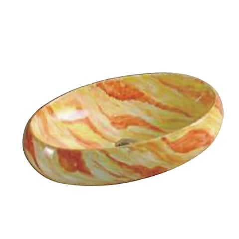 ANZZI Pastel Series Ceramic Vessel Sink in Pastels Finish