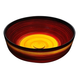 Link to ANZZI Dusk Crown Ceramic Vessel Sink in Rising Blur Finish Similar Items in Landscape Lighting