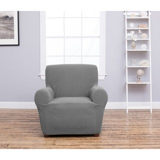 Cambria Collection Heavyweight Stretch Slipcover for Recliners