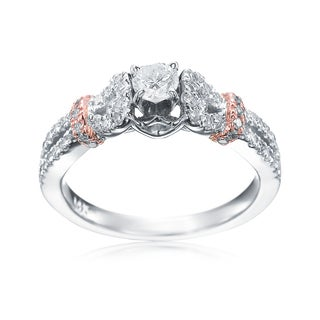 SummerRose 14k two-tone Diamond Engagement Ring