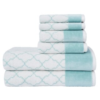 LOFT by Loftex Lattice Luxe 6-Piece Towel Set