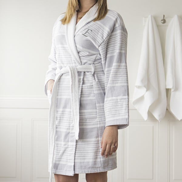 Shop Personalized Turkish Cotton Bath Robe - Free Shipping Today ... 93e936262